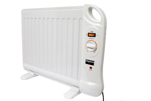 Dayton 1VNX3 Electric Oil Filled Space Heater With Analog Thermostat