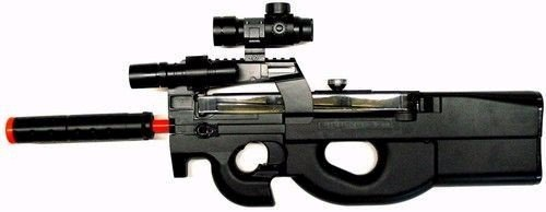 Well P-90 Laser Red Dot Airsoft Electric