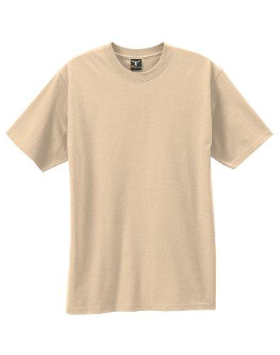Hanes Beefy-T Adult Short-Sleeve T-Shirt 5180 2Xl, Pebble