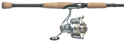 Pflueger 1-Piece Arbor Medium Spinning Rod and Reel Combo (6-Feet, 6-Inch)