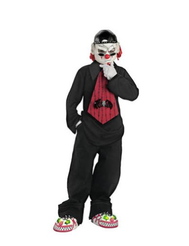 boys - Street Mime 7 To 8 Halloween Costume - Child 7-8