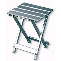 Travelchair Side Canyon Table, Silver
