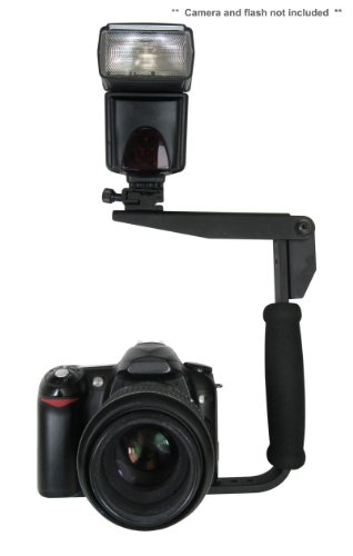 Canon Eos 1D Mark Iii Flash Bracket (Pivpo® Pivoting Positioning) 180 Degrees (Canon Shoe)