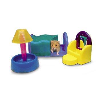 Sleep N Bedroom Set For Hamsters, 3 Pc