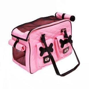 Fairlese(フェアレーゼ) 高品質 機能性抜群 ペット用 キャリーバッグ ピンク オリジナルモデル