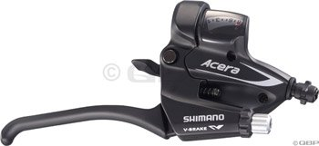 Shimano Easy Fire Shifters, 8 Speed, Canti or V Brake (ESTEF60P8AL)