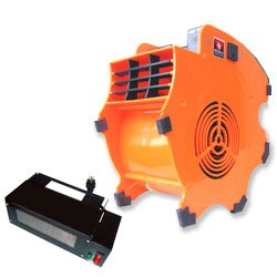 Neiko 2-Piece Combo, Industrial Fan Blower  5000