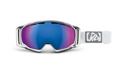 K2 Damen Skibrille Captura Blue Infrared Octic Mirror, White, 1034204.3.2.1SIZ,
