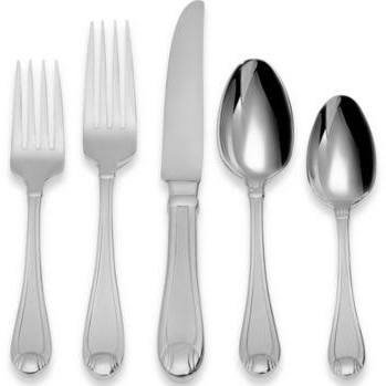 Oneida Satin Garnet 75-Piece Flatware Set, Service For 12