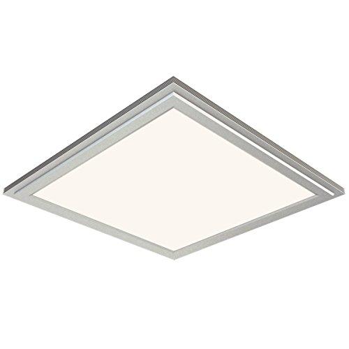 Hesion® Slim Led Panel Light,18Watt, 12X12 Inch, 4Pack, Samsung Smd5630 36Pcs, 45 Watt Incandescent Bulb Replacement, Ac100-240V, 1250Lm,Warm White
