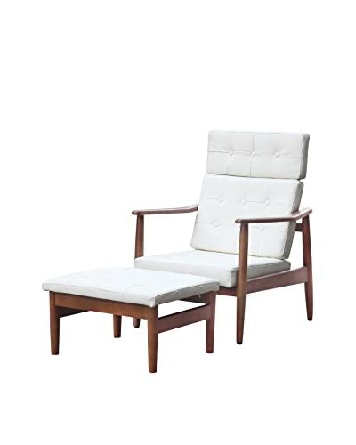Manhattan Living VOD Lounge Set, White