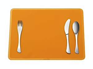 omami set de table en silicone orange cuisine. Black Bedroom Furniture Sets. Home Design Ideas