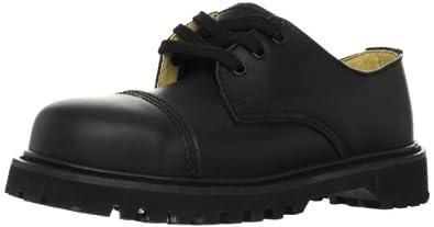 Demonia Men's Rocky 03,Black Leather,US 4 M