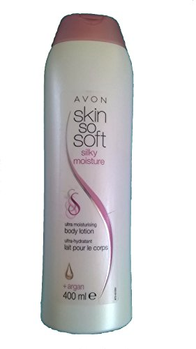 AVON SKIN SO-SOFT SILKY MOISTURE ULTRA MOISTURISING BODY LOTION- BONUS SIZE 400 ML