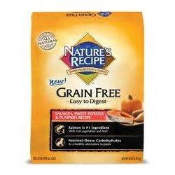 Nature'S Recipe Grain Free Salmon Recipe Dry Dog Food, 14-Pound