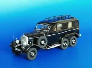 Plusmodel 1:35 Mercedes G4 - Radio Car model kit