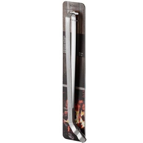 RösleBBQ Grillzange gebogen , 25061 - Gesamtänge 37cm.