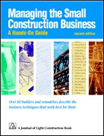 Managing Small Construction Business: Managing Small Construction Business
