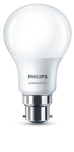 philips-929001236601-sceneswitch-lampadina-led-con-attacco-a-baionetta-sintetico-bianco-b22-5-watt