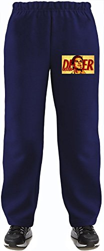 Dexter Morgan Super Soft Kids Lightweight Jog Pants by True Fans Apparel - 80% Organic, Hypoallergenic Cotton & 20% Polyester - Casual & Sports Wear - Perfect Present 5-6 years