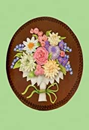 Paper poster printed on 20 x 30 stock. Tart Decoration with Butter Cream Flowers