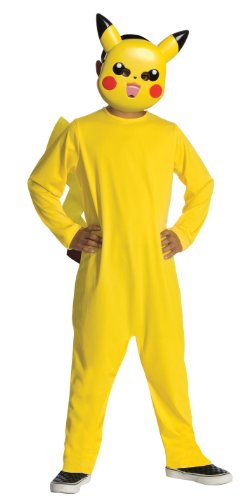 Pokemon Child's Pikachu Costume - One Color - Medium