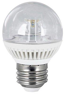 Feit Led Globe Bulb G16.5 4.8 W 300 Lumens Clear Medium Base (E26) 3000 K