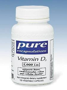 Pure Encapsulations - Vitamin D3 5000 Iu 120 Vcaps