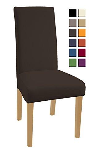 Ikea stefan sedia in legno di pino massiccio colore marrone scuro sedie panorama auto - Coprisedia in tessuto ikea ...
