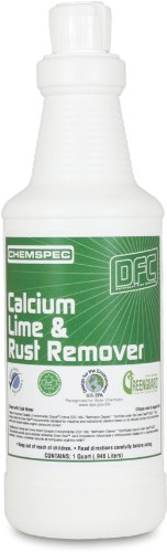 Chemspec DFCCLRCS Calcium Lime and Rust Remover, 1 qt Bottles (Case of 12)