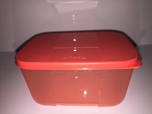 Tupperware Kühlschrank-System 700ml Dose rechteckig mit Deckel hummer Sonderfarbe orange