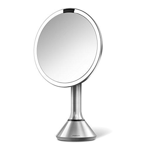 simplehuman-bt1080-espejo-con-sensor-ampliacion-de-5-x-inalambrico-y-recargable-de-acero-inoxidable