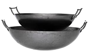 Eastman Outdoors 37206 Outdoor Gourmet 18-Inch Carbon Steel Wok by Eastman Outdoors