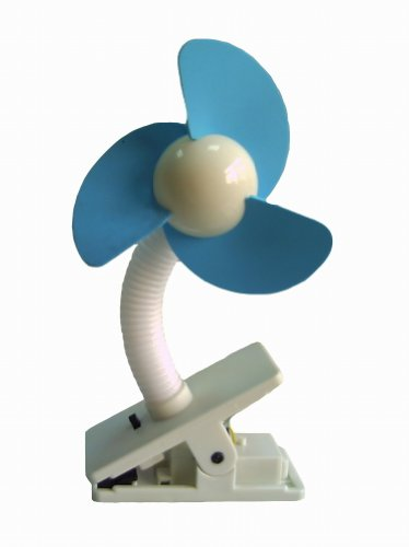 Dreambaby Fan cochecito, Blanco / Azul
