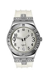 Swatch Women's WHITE COLLECTION Watch YLS430
