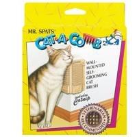 Mr. Spats Cat a Comb