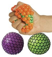 Squishy Mesh Ball Assorted Colors : Autism Therapy and Play Shopswell