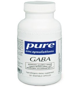 Pure Encapsulations Gaba - 120 Capsules