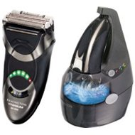 Remington MS-5500 Titanium MicroScreen Shaver with Cleaning Base