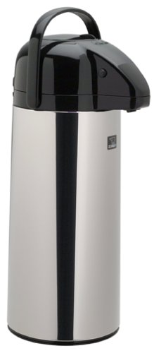 Zojirushi AAPE25SC 2.45-Liter Brew-Thru Air Pot, Polished Stainless Steel