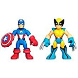 Playskool Heroes Super Hero Adventures Captain America And Wolverine