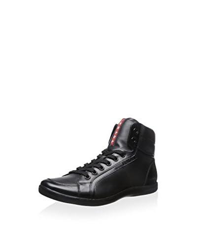 Prada Sport Men's Casual Hi-Top Sneaker