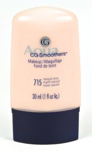 CoverGirl Smoothers Liquid Make Up, Natural Ivory 715,  1-Ounce Packages (Pack of 2)
