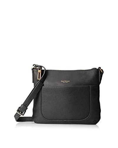 Isaac Mizrahi Women's Lileth Cross-Body, Black