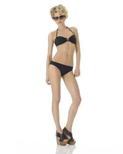 Solid Bandeau Bikini