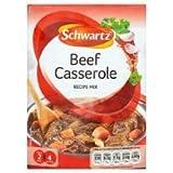 Schwartz Beef Casserole Recipe Mix 43G