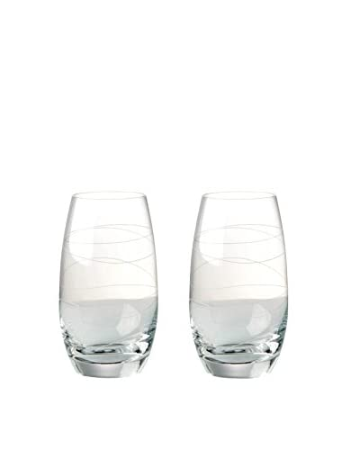 Nambe Set of 2 Motus 16-Oz. Highball Glasses, Clear