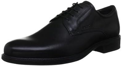 Geox U Carnaby B U22W1B43C9999, Chaussures de ville homme - Noir (Black), 39 EU
