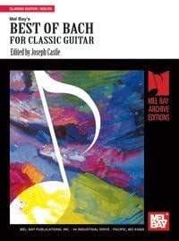 Best of Bach. Partitions pour Guitare