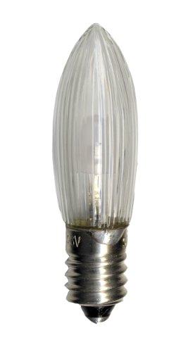 Best Season Universal LED Ersatzleuchtmittel / E10 / 2100 K / imitiert 10 - 55 V, 0.2 W / 7 Stück auf Karte / klar 300-70